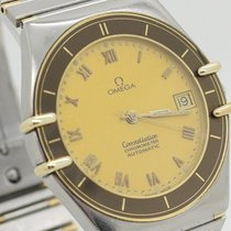 Omega Constellation Chronometer Herrenuhr Automatik Stahl/gold