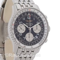 Breitling Navitimer Chronograph Automatic Black Dial Mens...