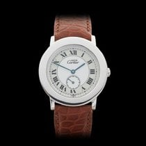 Cartier Ronde 925 Silver Unisex 1815