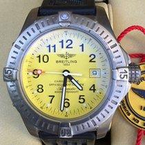 Breitling Avenger Seawolf Titanium Diver Pro. Rubber Strap...