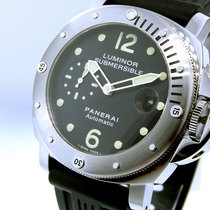 Panerai Unworn  Pam 24 Steel 44 Mm Luminor Submersible Pam 00024