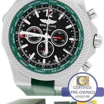 Breitling Bentley GMT British Racing Green Black A47362...