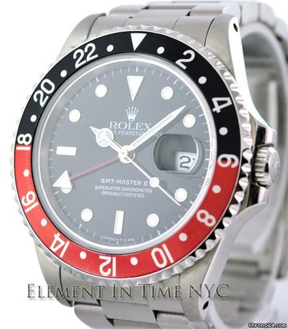 Rolex GMT-Master II Oyster Red / Black 16710
