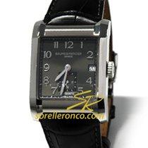 Baume & Mercier Hampton Rectangular Black Dial - 10027