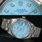 Rolex Oyster Perpetual Automatic Date Steel Mens Watch Ref# 1500