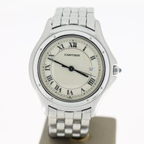 Cartier Panthere Cougar Steel White/Creme Dial 32MM