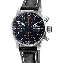 Fortis Aviatis Flieger Classic Chronograph Watch Swiss Auto...