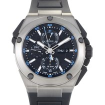 IWC Ingenieur Double Chronograph Men's Automatic Watch...