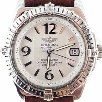 Breitling Callisto Steel Quartz Ladies Watch [ Special White...