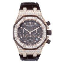 Audemars Piguet Royal Oak Diamond Chronograph 18 kt Rose Gold...