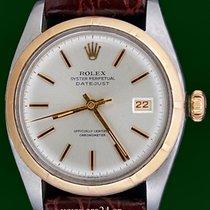 Rolex Vintage Datejust 6105 Rose Gold Steel 1953