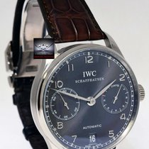 IWC . Portuguese 7 Day Watch 18k Gold IWC Box/Papers 5001