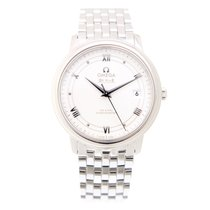 Omega De Ville Stainless Steel White Automatic 424.10.37.20.04...