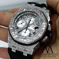 Audemars Piguet Royal Oak Offshore Chronograph Diamonds Watch...
