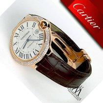 Cartier New Ballon Bleu De Cartier 42mm 18k Yelow Gold...