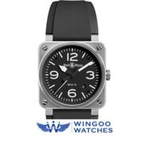 Bell & Ross Aviation Stainless Steel Black Dial 42mm Ref....