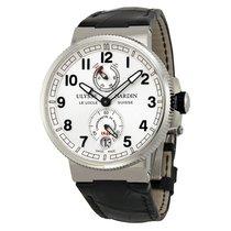 Ulysse Nardin Marine Chronometer White Dial Mens Watch...
