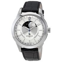 Perrelet Moonphase Silver Dial Automatic Men's Watch