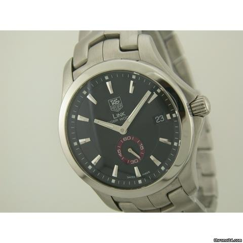 TAG Heuer Link Tiger Woods Automatic Steel on Bracelet