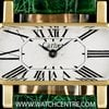 Cartier 18k Yellow Gold Vintage Divan Ladies Wristwatch