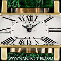 卡地亚 (Cartier) 18k Yellow Gold Vintage Divan Ladies Wristwatch