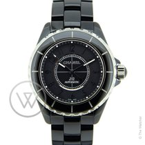 Chanel J12 Intense Black Automatic New-Full Set