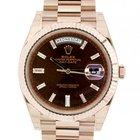 Rolex Day Date New 228235 Red Gol Diamonds, 40mm