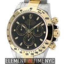 Rolex Daytona Steel & Yellow Gold Black Index Dial  Ref....