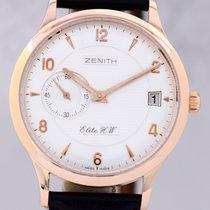 Zenith Class Elite 37 Gold 18K Klassiker Hadn Wind Date...