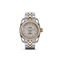 Tudor CLASSIC DATE  Steel Gold Automatic Diamonds 22023