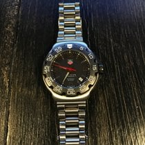 TAG Heuer FORMULA 1 WAC1110-0 STAINLESS STEEL BLACK DIAL...