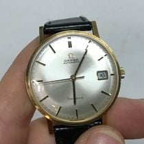 Omega Date Manual Manuale gold oro 36 mm 18kt Gold 50'
