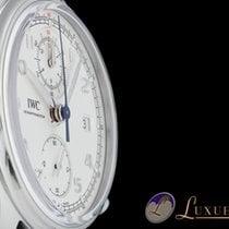 IWC Portugieser Classic Chronograph 42 Edelstahl   42mm