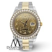 Rolex Men's Rolex Datejust Ii Two Tone Watch (gold &...