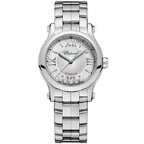 Chopard Happy Sport Silver Dial Ladies Watch 278573-3002