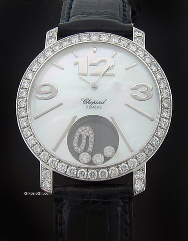 Chopard White Gold Happy Diamonds Extra Large 207450