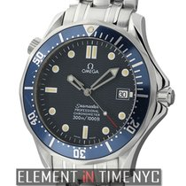Omega Seamaster 300 M Chronometer Steel Patina Dial 41mm Ref....