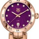 豪雅 (TAG Heuer) LINK Diamond Dial Roman Numeral Bezel Watch-...