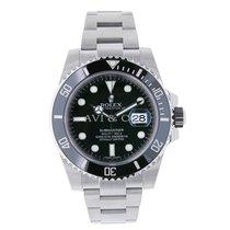 Rolex SUBMARINER Stainless Steel Watch Black Ceramic 2016
