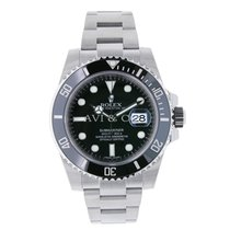 ロレックス (Rolex) SUBMARINER Stainless Steel Watch Black Ceramic 2016