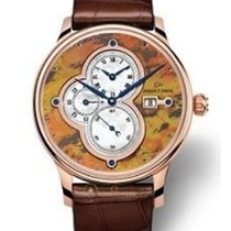 Jaquet-Droz The Time Zones Tiger Tail Jasper
