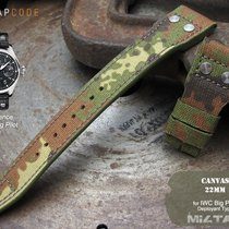 IWC Big Pilot Replacement Strap, Forest Land Camo