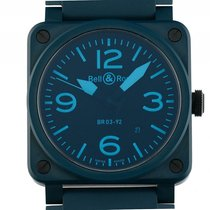 Bell & Ross Aviation BR 03-92 Phantom Blue Ceramic...