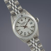 Rolex Ladies Date stainless steel oyster perpetual watch 30th...