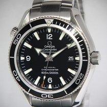 Omega Seamaster Planet Ocean Steel Black Dial/Bezel Automatic...