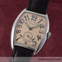 Franck Muller Lady Casablanca Damenuhr Handaufzug Ref 7502 S6...