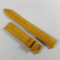 Chopard 15mm / 14mm beige / sand color alligator leather strap...
