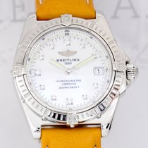 Breitling Lady Callisto Cockpit Wings Diamond Dial Perlmutt...