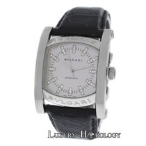 Bulgari Autnentic Ladies Assioma AA44S Diamond MOP Automatic