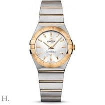 Omega Constellation Brushed Quarz Small